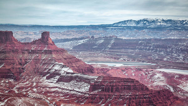 Photograph - View Of Potash Ponds From Dead Horse Point by Jeanette Fellows
