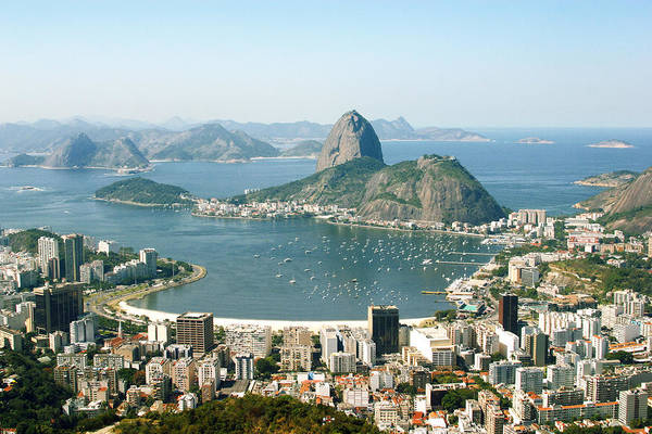 View Through Window Photograph - View Of Rio by Fguignard