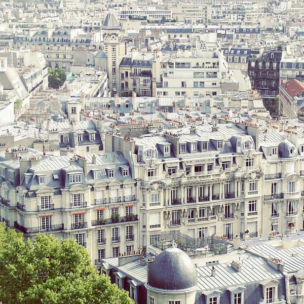 Paris Rooftop Photograph - View Of Roofs Of Paris by By Smaranda Madalina Cheregi