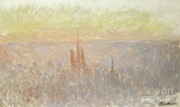 Painting - View Of Rouen, 1892  by Claude Monet