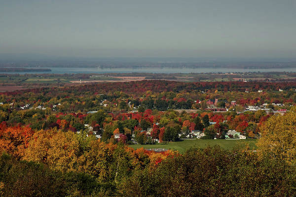 Photograph - View Of Saint Albans by Jeff Folger