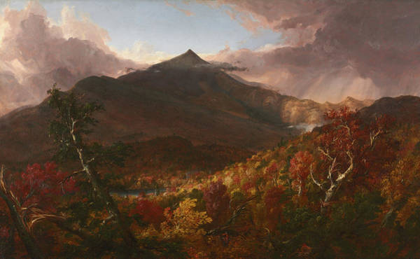 Adirondack Mountains Painting - View Of Schroon Mountain, Essex County, New York, After A Storm, 1838 by Thomas Cole