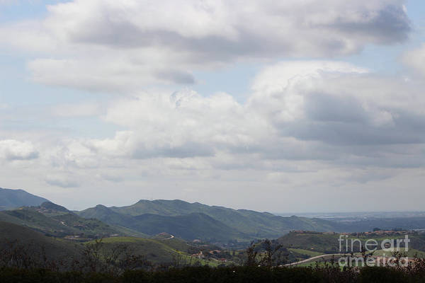 Photograph - View Of Simi Valley From Reagan Library Grounds 2 by Colleen Cornelius