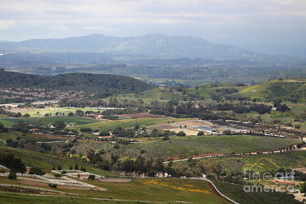 Photograph - View Of Simi Valley From Reagan Library Grounds 4 by Colleen Cornelius