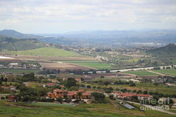 Photograph - View Of Simi Valley From Reagan Library Grounds 5 by Colleen Cornelius