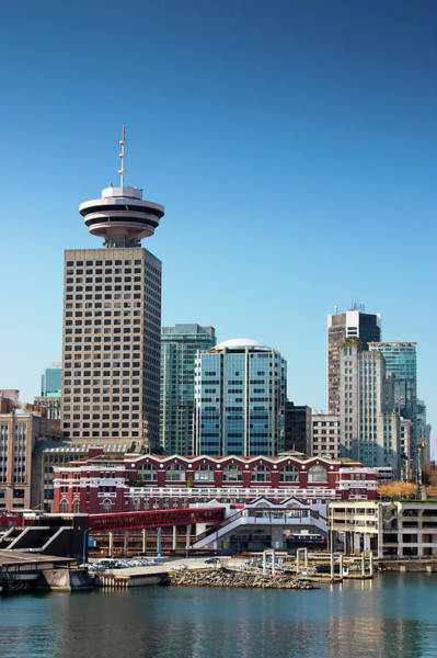 Vancouver City Photograph - View Of Skyscrapers In Downtown by Heliry