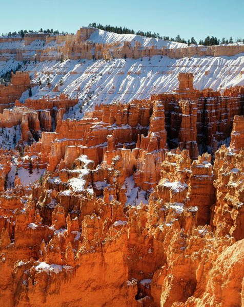 Rock Formation Photograph - View Of Sunset Point At Morning, Bryce by Danita Delimont