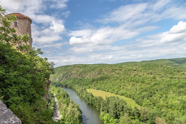Wall Art - Photograph - View Of The Aveyron River From The Chateau De Bruniquel by W Chris Fooshee