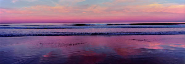 Wall Art - Photograph - View Of The Beach At Sunset, La Jolla by Panoramic Images