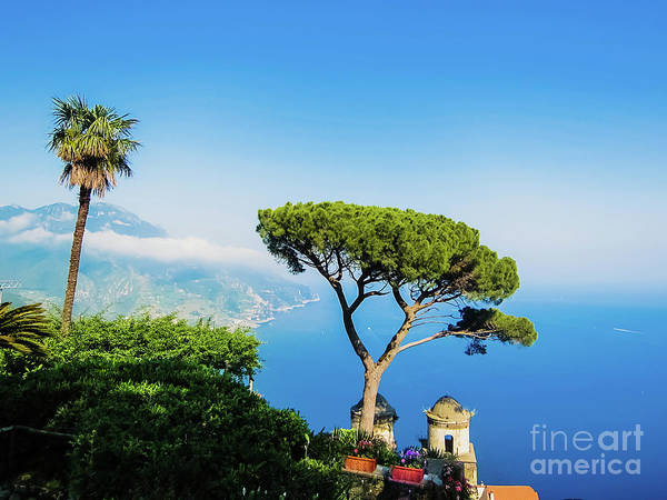Photograph - View Of The Coast Of Naples From The Top Of The Cliffs. by Joaquin Corbalan