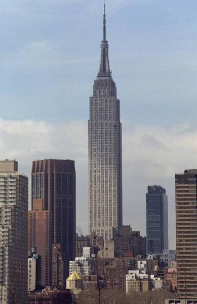 Queen Photograph - View Of The Empire State Building From by New York Daily News Archive
