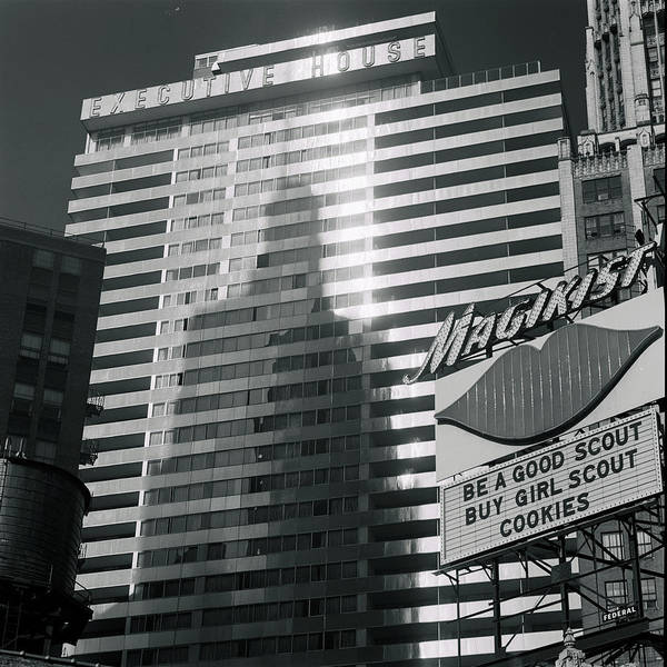Photograph - View Of The Executive House Hotel by Andreas Feininger
