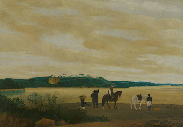 Wall Art - Painting - View Of The Island Of Itamaraca, Brazil by Frans Post