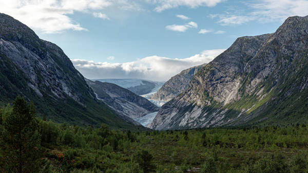 Photograph - View Of The Nigardsbreen, Norway by Andreas Levi