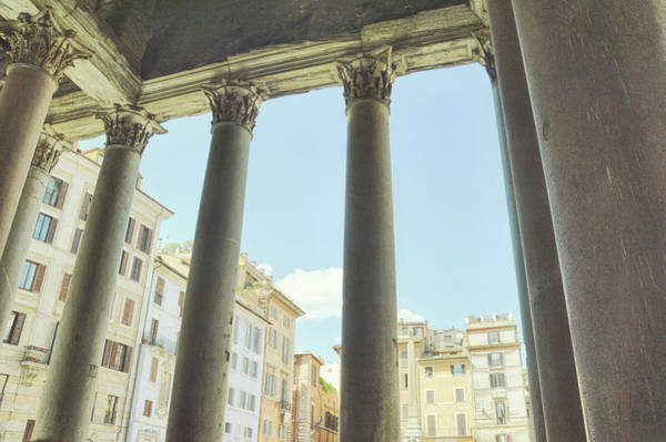 Photograph - View Of The Piazza by JAMART Photography