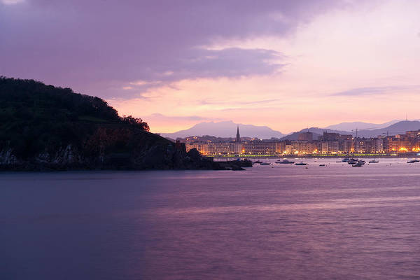 San Sebastian Photograph - View Of The Town From Paseo Eduardo by Maremagnum