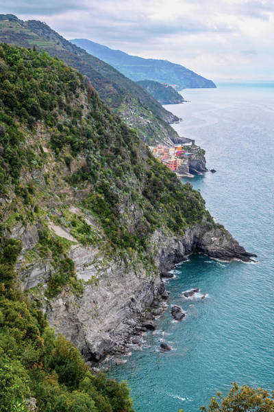 Photograph - View Of Vernazza Cinque Terre Italy by Joan Carroll