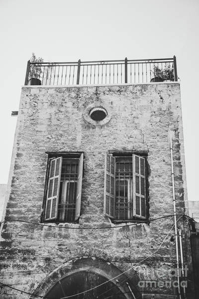 Photograph - View Of Very Old Building In Jaffa Israel by PorqueNo Studios