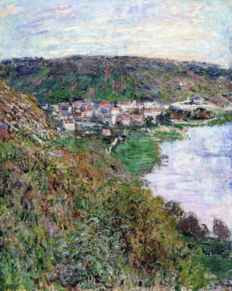 Wall Art - Painting - View Of Vetheuil - Digital Remastered Edition by Claude Monet