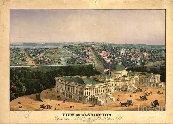 Photograph - View Of Washington by Flavia Westerwelle