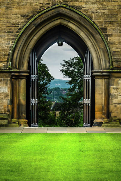Wall Art - Photograph - View Over Glasgow Through Archway by Yvonne Stewart Henderson