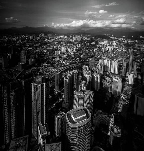 Photograph - View Over Kuala Lumpur by Georgia Fowler