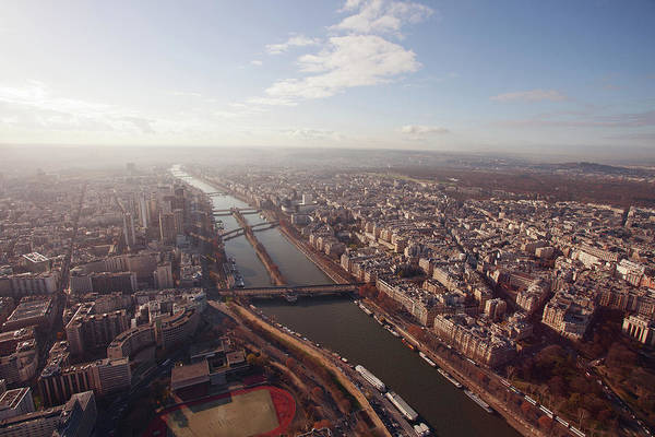 Pasquale Photograph - View Over Paris From Eiffel Tower by Nico De Pasquale Photography