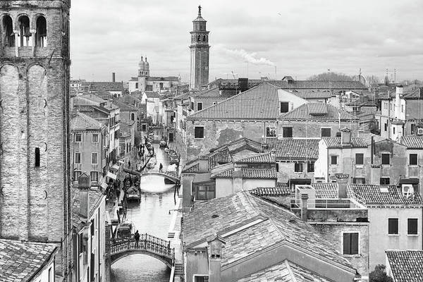 Photograph - View Over Venice by Georgia Fowler
