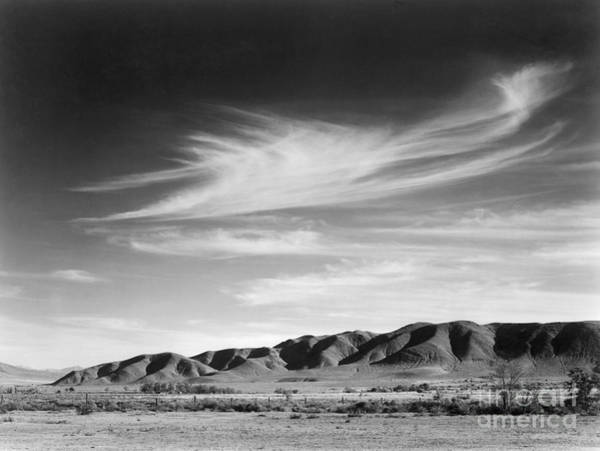 Wall Art - Photograph - View South From Manzanar To Alabama Hills, California, 1943 by Ansel Adams