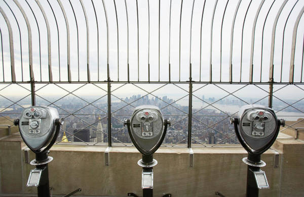 Surroundings Photograph - Viewfinders Looking Over Lower Manhattan by Ryan Mcvay