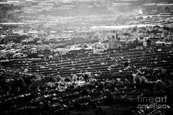 Wall Art - Photograph - Views Over The Catholic Enclave Of Ardoyne In North Belfast Northern Ireland by Joe Fox