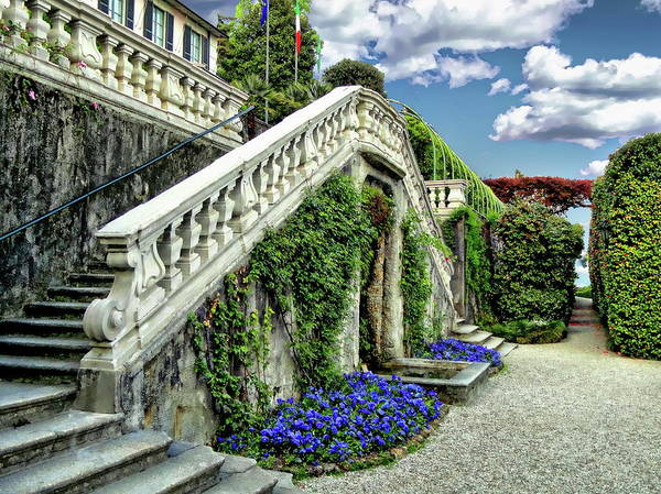 Photograph - Villa Carlotta by Anthony Dezenzio