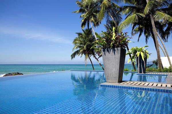 Villa Photograph - Villa Hotel Swimming Pool Sri Lanka by Laughingmango