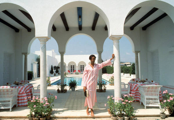 Villa Photograph - Villa In Sotogrande by Slim Aarons