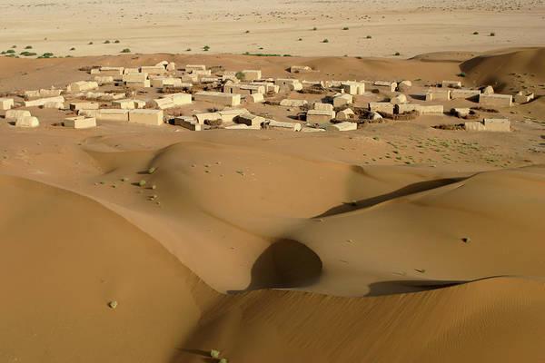Mud House Photograph - Village At Nushki Desert, Balochistan by Nadeem Khawar