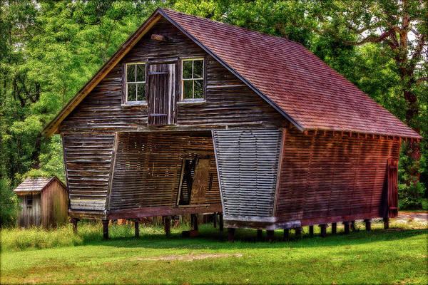 Photograph - Village Corn Crib by Susan Candelario