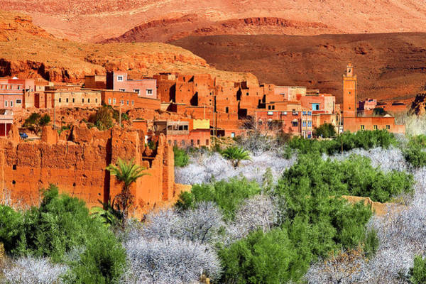 Old Photograph - Village In Maghreb by Visions Of Our Land