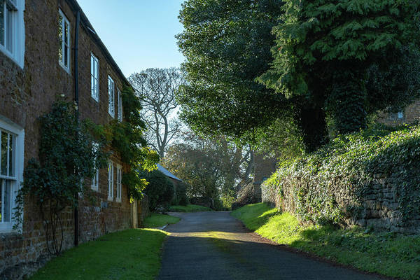 Photograph - Village Lane by Mark Hunter