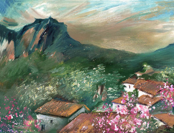 Painting - Village On The Costa Blanca 02 by Miki De Goodaboom