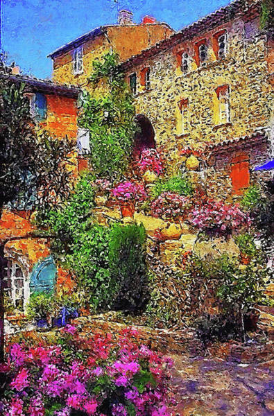 Painting - Villages Of Tuscany - 02 by Andrea Mazzocchetti