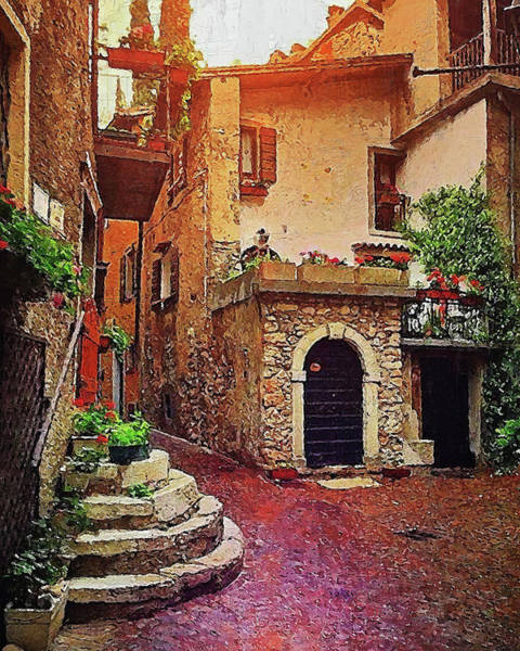 Painting - Villages Of Tuscany - 03 by Andrea Mazzocchetti