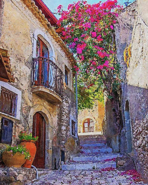Painting - Villages Of Tuscany - 04 by Andrea Mazzocchetti