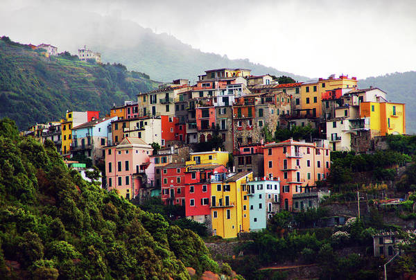 Vernazza Photograph - Villages On The Cliff, Cinque Terre by Totororo