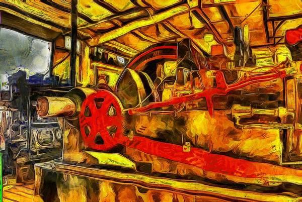 Photograph - Vinnies Steam Machine by Thom Zehrfeld