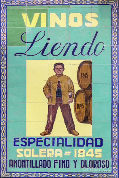 Wall Art - Painting - Vinos Liendo by Delphimages Photo Creations