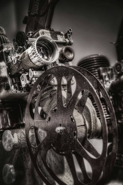 Wall Art - Photograph - Vintage 16mm by Scott Norris