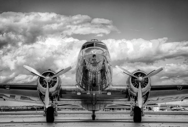 Journey Photograph - Vintage Airplane by Nick Vedros