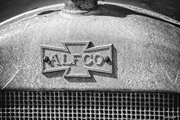 Photograph - Vintage  Alfco Firetruck by Wesley Nesbitt