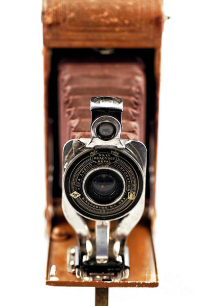Photograph - Vintage Ansco Readyset Royal Camera by John Rizzuto