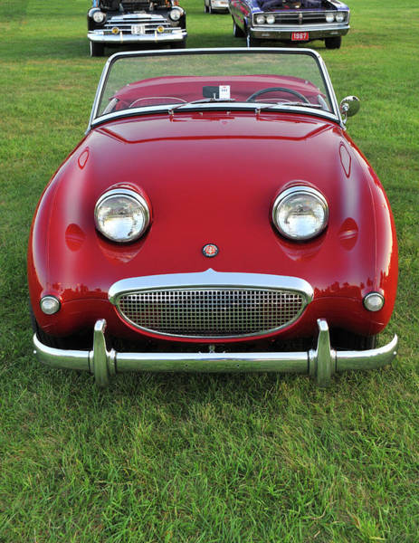 Wall Art - Photograph - Vintage Austin Healey Sprite by Mike Martin